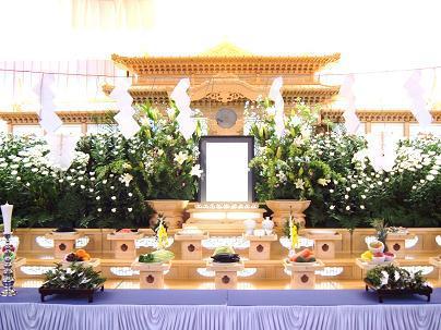 201_20180322_神葬祭の祭壇